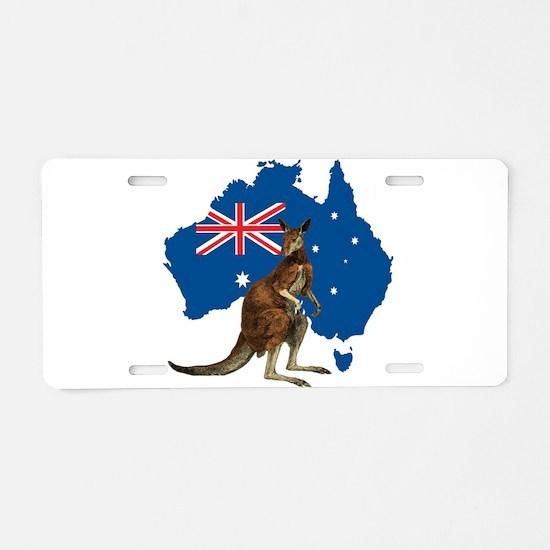 Australia Aluminum License Plate