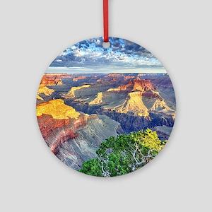 Grand Canyon Round Ornament