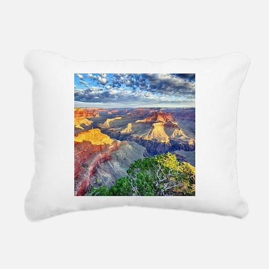Grand Canyon Rectangular Canvas Pillow
