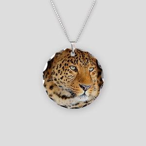 Leopard Portrait Necklace