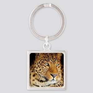 Leopard Portrait Keychains