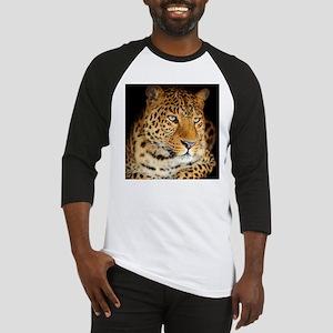 Leopard Portrait Baseball Jersey