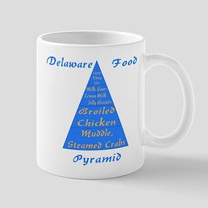 Delaware Food Pyramid Mug
