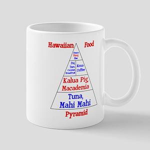Hawaiian Food Pyramid Mug