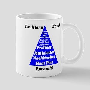 Louisiana Food Pyramid Mug