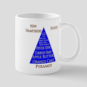 New Hampshire Food Pyramid Mug