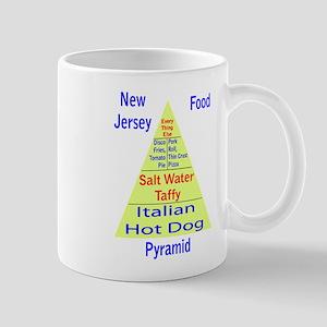 New Jersey Food Pyramid Mug