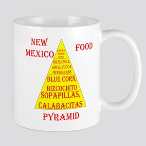 New Mexico Food Pyramid Mug