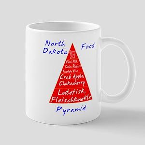 North Dakota Food Pyramid Mug