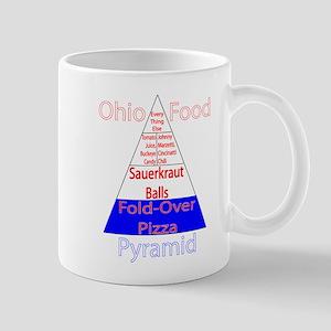 Ohio Food Pyramid Mug