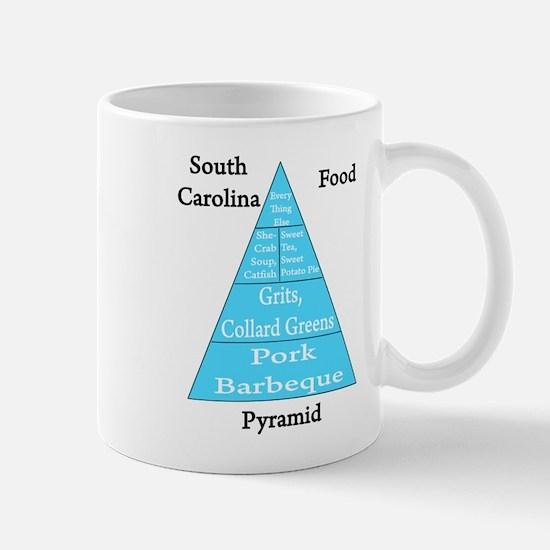 South Carolina Food Pyramid Mug