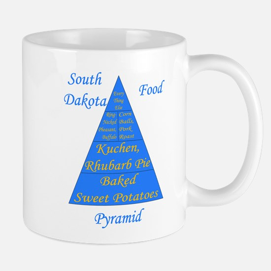 South Dakota Food Pyramid Mug