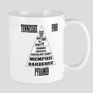 Tennessee Food Pyramid Mug