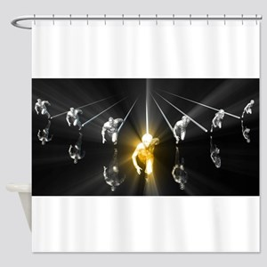 Personal Developme Shower Curtain