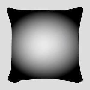 BlackWhite112x96 Woven Throw Pillow
