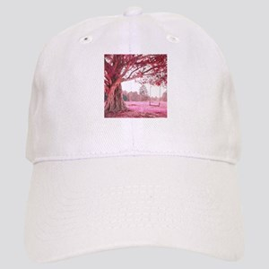 Pink Tree Swing Baseball Cap