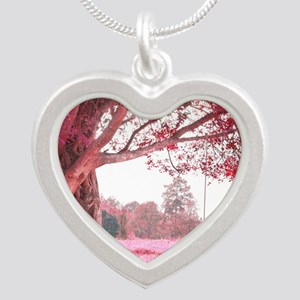 Pink Tree Swing Necklaces