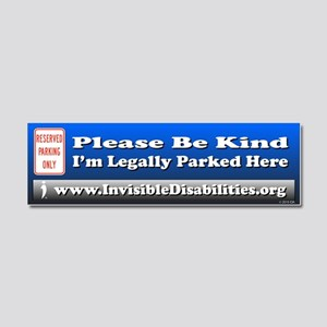 I'm Legally Parked Here Car Magnet 10 X 3