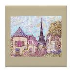 Paris Cityscape inspired landscape Eiffel Tower Sq