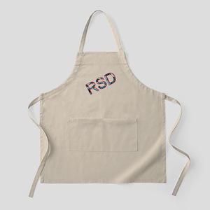 RSD Awareness Flaming Ice Text Apron