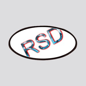 RSD Awareness Flaming Ice Text Patch