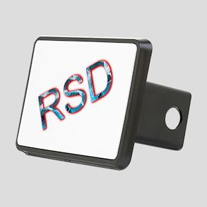 RSD Awareness Flaming Ice Rectangular Hitch Cover