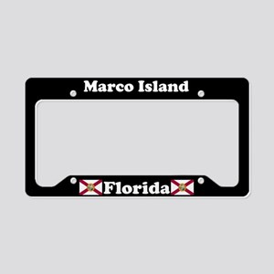 Marco Island, FL License Plate Holder
