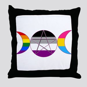 Gay Pride DemiSexual PanSexual Goddess Pentacle Th