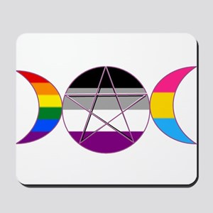 Gay Pride DemiSexual PanSexual Goddess Pentacle Mo