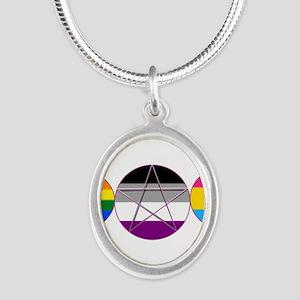 Gay Pride DemiSexual PanSexual Goddess Pentacle Ne