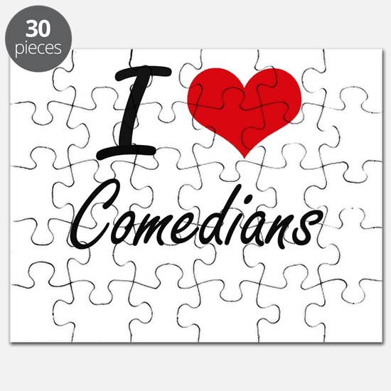 I love Comedians Puzzle