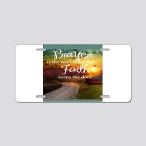 prayer Aluminum License Plate