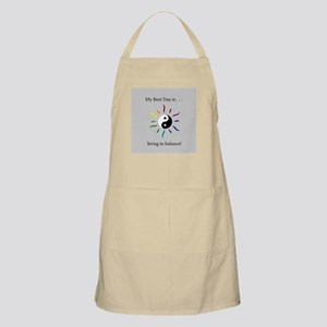 Best Day Yin Yang Rainbow Sun Apron