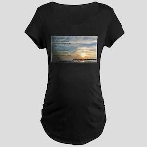 Lighthouse, friend Maternity T-Shirt