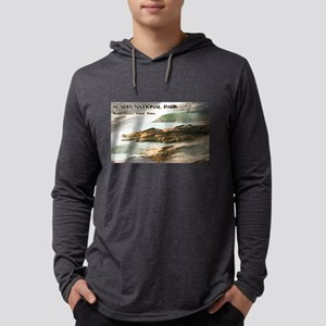 Acadia National Park Coastline Long Sleeve T-Shirt