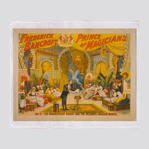 Frederick Bancroft - Prince of Magicians Throw Bla