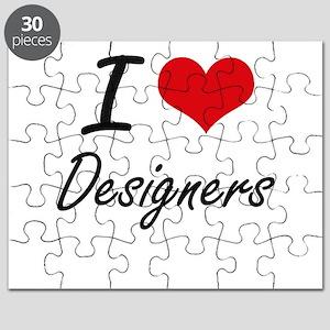 I love Designers Puzzle