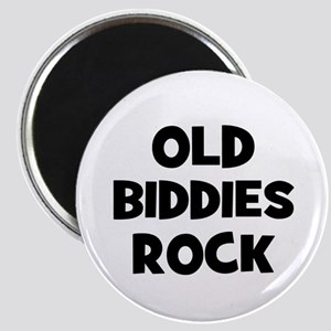Old Biddies Rock Magnet