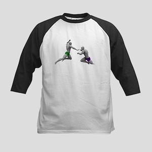Martial Arts Conce Baseball Jersey