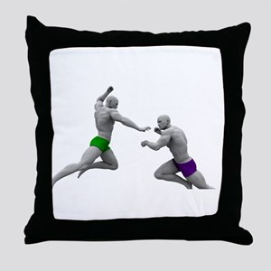 Martial Arts Conce Throw Pillow