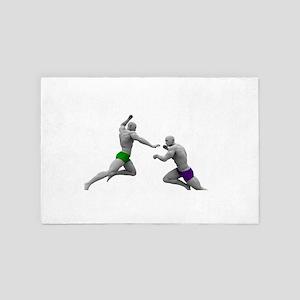 Martial Arts Conce 4' x 6' Rug