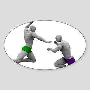Martial Arts Conce Sticker