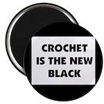 Crochet Is the New Black Magnet