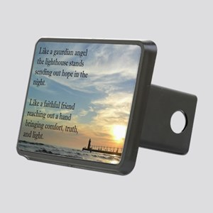 Lighthouse, friend Rectangular Hitch Cover
