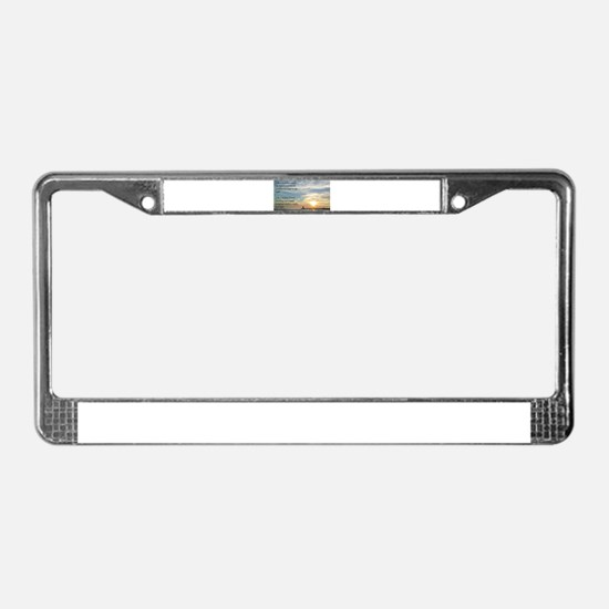 Lighthouse, friend License Plate Frame