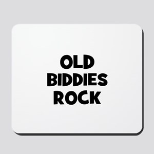 Old Biddies Rock Mousepad