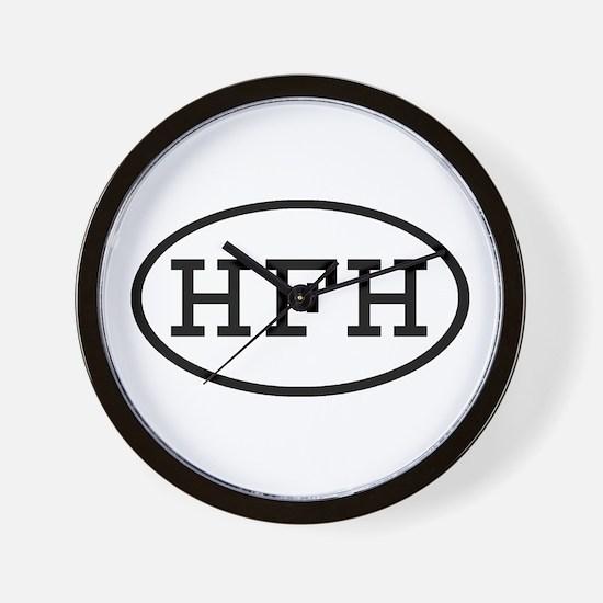 HFH Oval Wall Clock