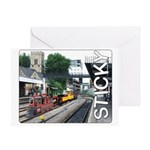 Card - Sticky's Choo-Choo Train Greeting Cards