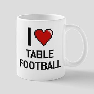 I Love Table Football Digital Design Mugs