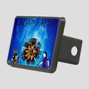 CRPS RSD Man & Woman with Rectangular Hitch Cover